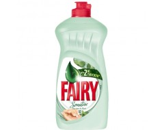 FAIRY DETERGENT VASE LICHID 450ML MINT