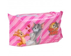 COTTONINO SERVETELE UMEDE 72BUC TOM&JERRY BUBBLE GUM