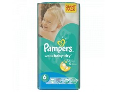 PAMPERS NEW GIANT PACK NR6 15KG 56BUC