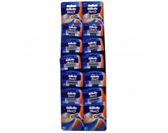 GILLETTE BLUE3 APARAT RAS 10 BUC/SET