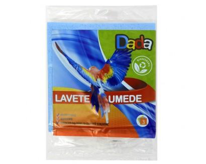 DADA LAVETE UMEDE 3BUC/SET