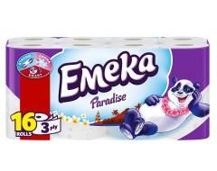 EMEKA HARTIE IGIENICA 16 ROLE 3 STRATURI